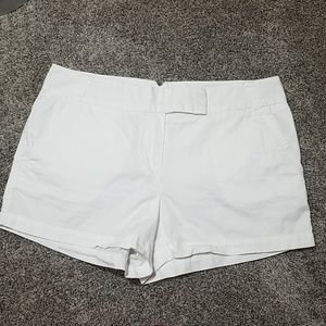 J.Crew Chino White Shorts